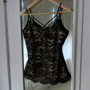 Boston Proper Tops - NWT Boston Proper Lace Made To Be Seen Cami